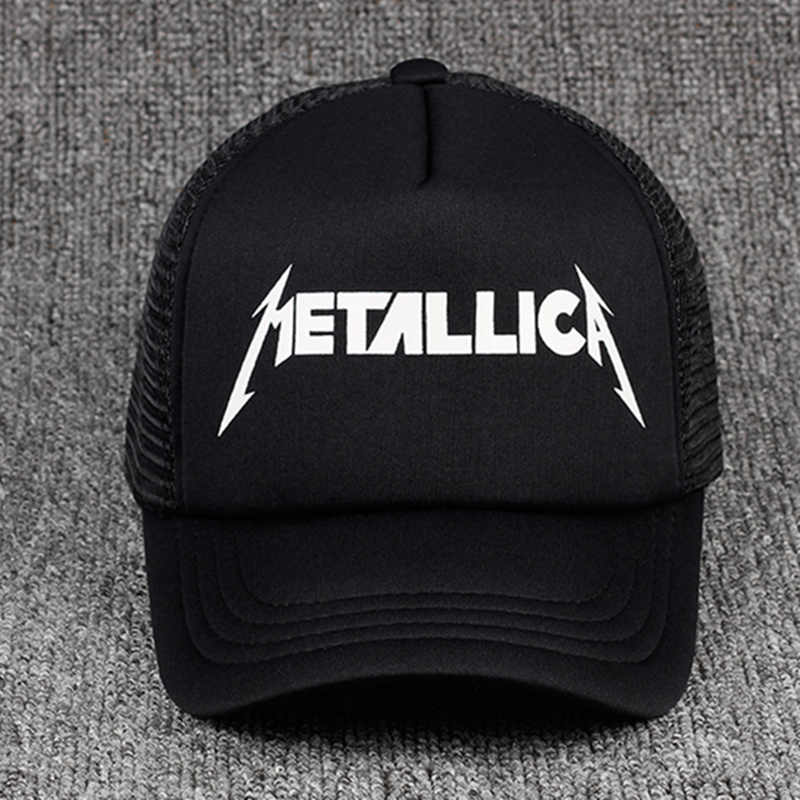 226b6d1e431 TUNICA 2017 fashion METALLICA print Custom Unstructured Baseball cap truck  driver Hat Adjustable men women Cap