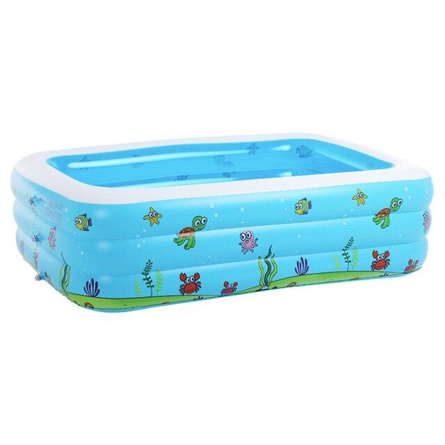 Große Erwachsene Säuglings Aufblasbares Schwimmbecken Kind Ozean Pool Plus  Größe Große Kunststoff Kinder Kinder Schwimmbäder Umweltfreundliche