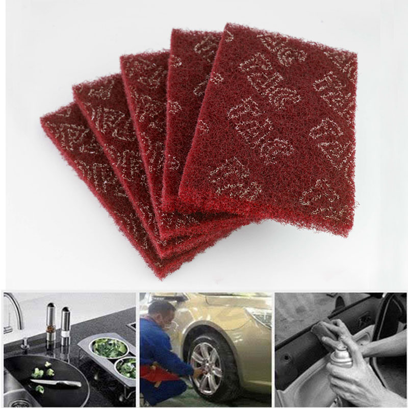 Paint Removal Polishing Abrasive Finishing Pads Polishing Pads Durable Portable Industrial Scouring Pads Buffing Grinding