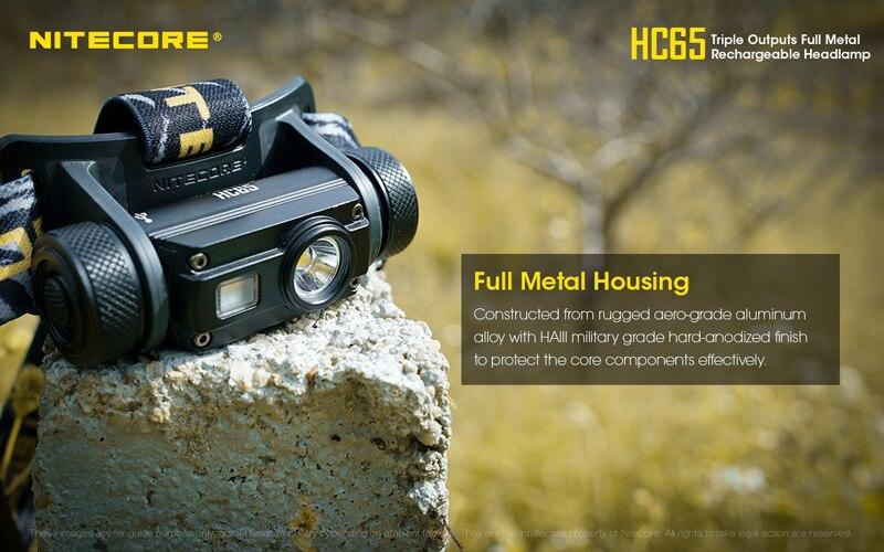 Nitecore HC65 1000 Lumens Rechargeable Headlamp (18)