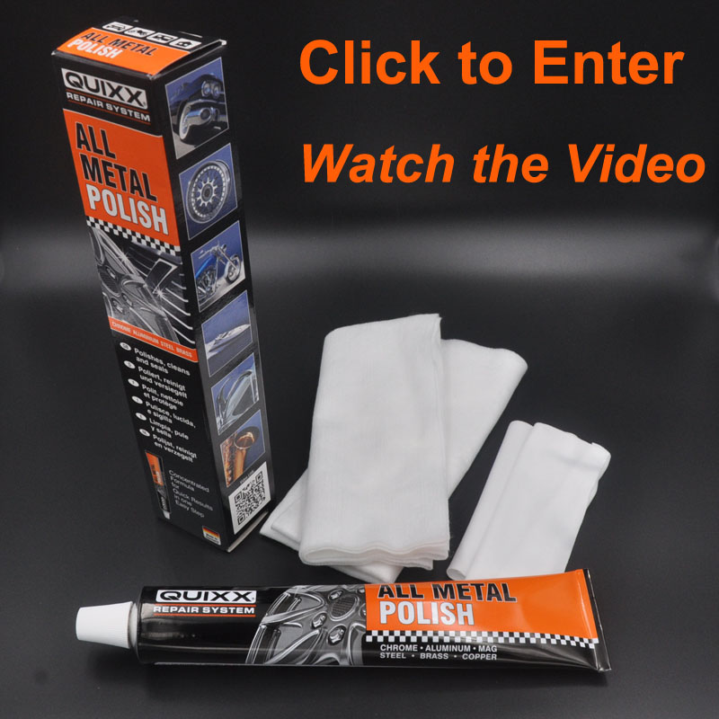 Germany QUIXX 95g All Metal Polish For Family and Car Expenses Cleaning Polished Desmearing Sealing Preventing oxidation