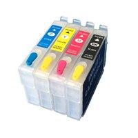 T1251 T1254 Pour epson cartouche d'encre recyclage NX125 NX127 NX130 NX230 NX420 NX530 NX625 Main-d 'Œuvre 320 323 325 520 avec puce ARC