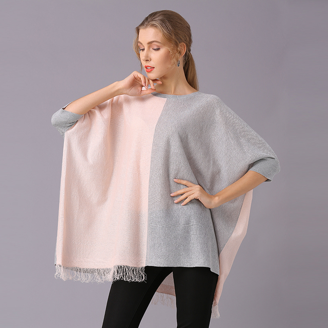 XIKOI Women T Shirt Oversize Clothing Casual Color Stitching Novelty Pullovers Fashion Tees Ladies Shirts For Women Tops 2