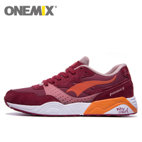 Onemix Gel Running Shoes For Men Women 2016 Sneaker Breathable Lady Trainers Walking Outdoor Femme Sport