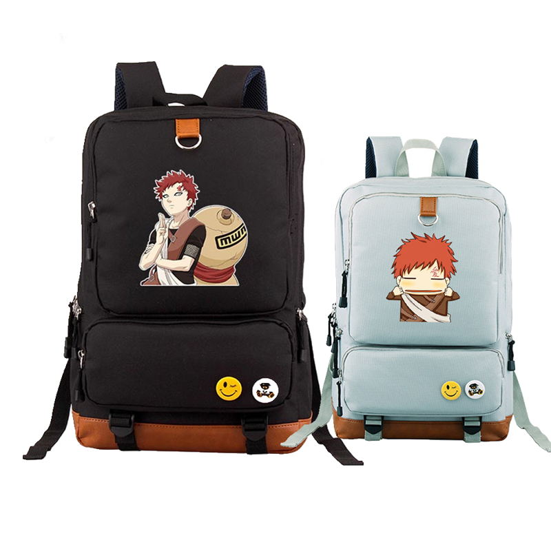 Anime Uzumaki Naruto Uchiha Sasuke Hatake Kakashi Cosplay Printing Backpack School Backpacks for Teenage Girls Mochila Feminina naruto action figure hatake kakashi flash power rock scene diy set naruto shippuden hatake kakashi model toy kakashi diy180