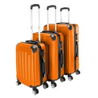 3 in 1 Suitcase Rolling Suitcase Carry on Trolley Case Travel Bag 4 Rounds Fine tuning Rotating Hard Shell ABS 20 24 28 Suit