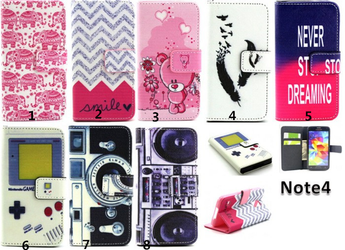 samsung galaxy note 4 fashion wallet case (30