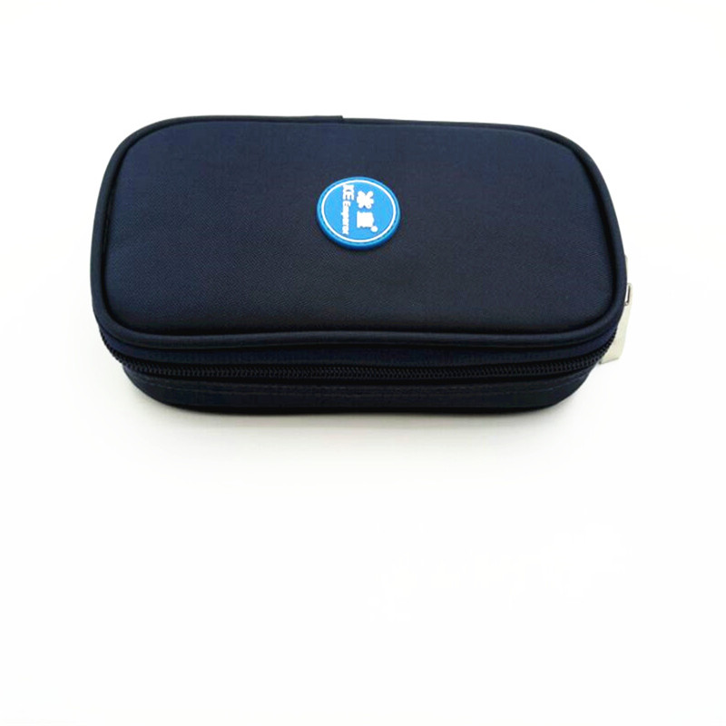 Portebla Insulino Fridge Small Insulino Cooler Case 2-8 Degree Insulino Cooling Case Work About 25 Hrs Diabetics Products