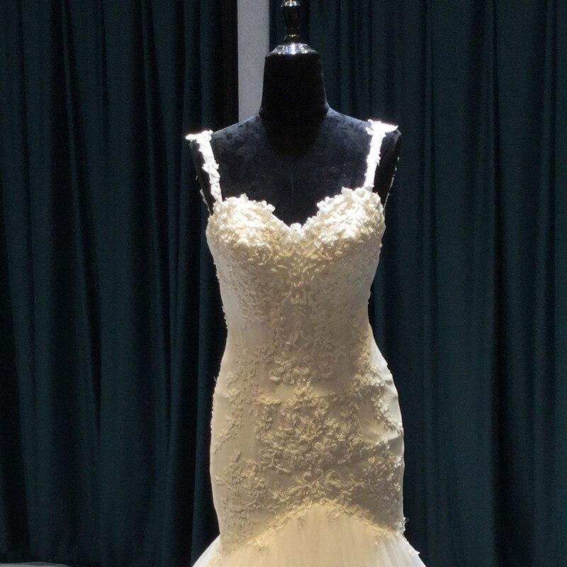 Vestido De Noiva Lace Mermaid Bröllopsklänningar 2017 Sweetheart - Bröllopsklänningar - Foto 5