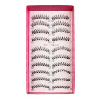 10 Pairs New Fashion Women Soft Long Cross Fake Eye Lashes Handmade Thick False Eyelashes Extension Beauty Makeup Tools