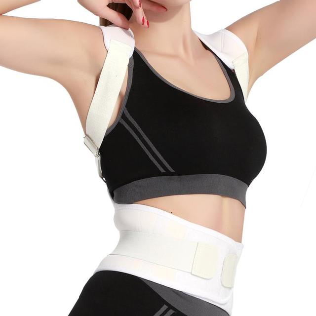 Shoulder Support Therapy Correction Belt Health Care Underwear Shaper Corset Humpback Women Back Posture Corrector Brace