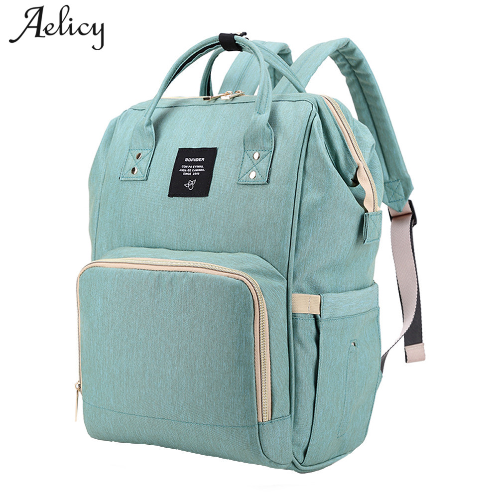 Aelicy New Upgraded Fashion Mummy Maternity Nappy Bag Large Capacity Baby Diaper Bags Travel Backpack Designer Nursing Baby Bag покрывало наволочки 240х260 sofi de marko покрывало наволочки 240х260