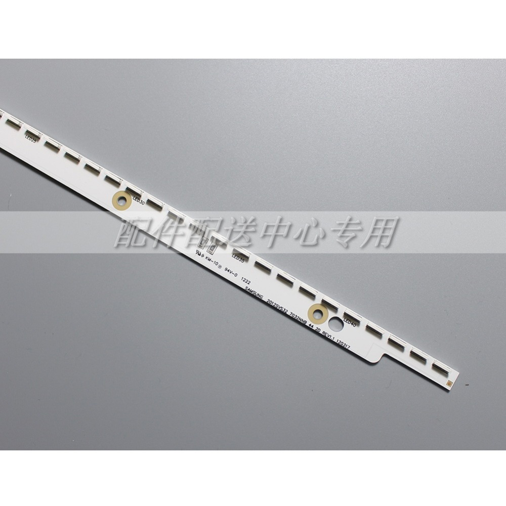 Image 2 - 32 inch LED Backlight Strip for Samsung TV 2012SVS32 7032NNB 2D 6Pin V1GE 320SM0 R1 32NNB 7032LED MCPCB UA32ES5500 44LEDs 404mmIndustrial Computer & Accessories   -