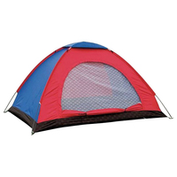For 1/2/3 4/6 Person Camping Tent Single Layer Waterproof Windproof Sunshade Outdoor Driving Camping Accessories