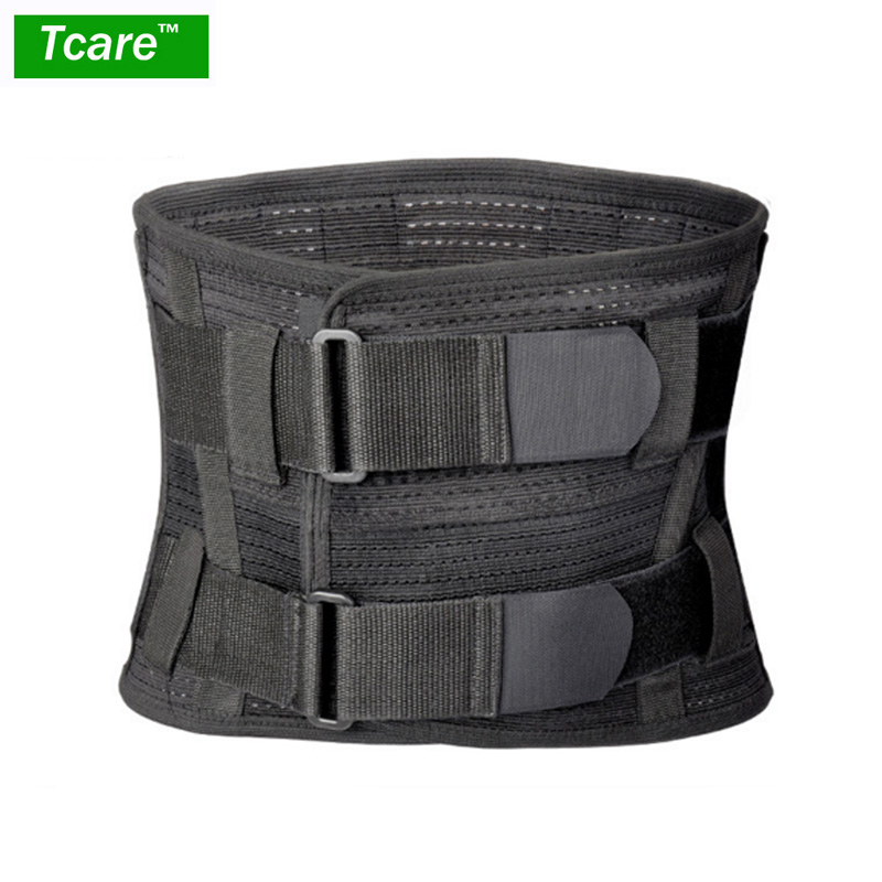 Tcare Lumbar Lower Back Brace and Support Belt - for Men & Women Relieve Lower Back Pain with Sciatica, Scoliosis Back Pain neoprene orthopedic back brace belt lumbar back support brace waist band relieve lower back pain aft y006