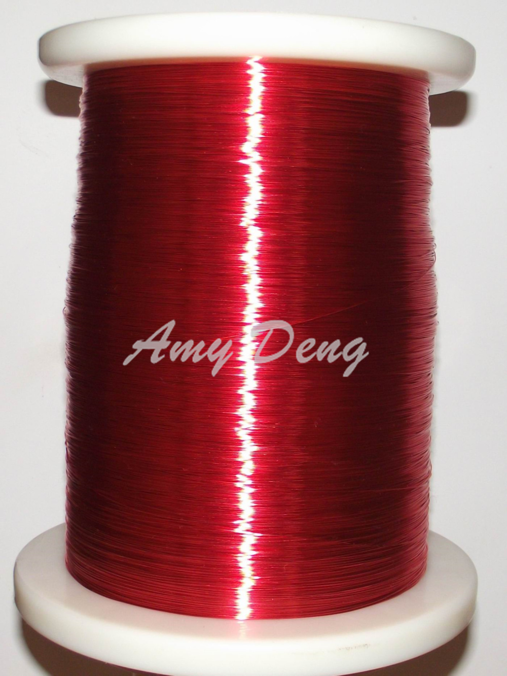 100 meters/lot 1.0mm red paint package line polyurethane paint wire ...