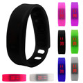 FHD Creative Watch Women Men Fashion 1PC Rubber LED Watch Date Sports Bracelet Digital Wrist Sport Watch