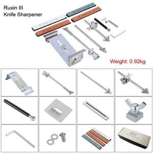 Image 4 - Bıçak kalemtıraş Ruixin Pro III tüm demir çelik profesyonel şef bıçak kalemtıraş mutfak bileme sistemi Fix açı 4 Whetston