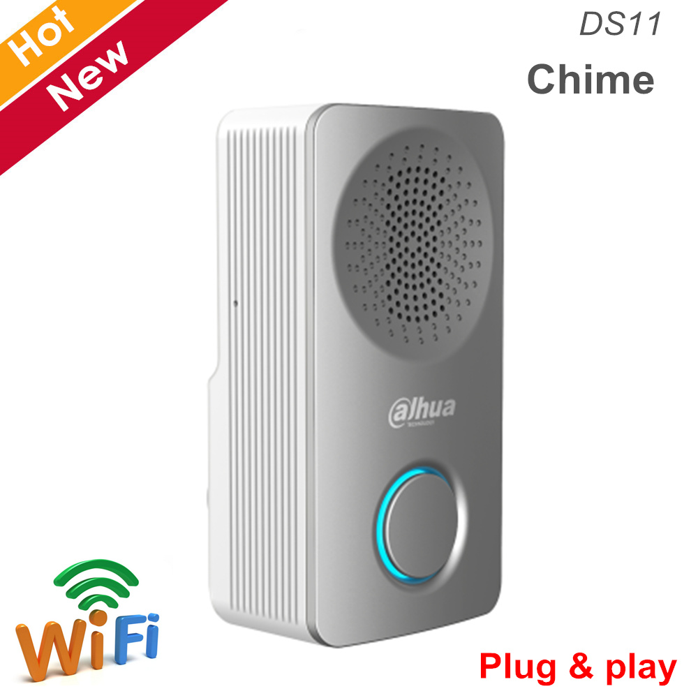 Dahua DS11 Chime Multiple Ring Tones Easy Install WiFi Connection Plug And Play Built-in Loudspeaker For Video Intercom System