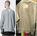 Mens 2017 Top Version Fear Of God Both Side Zippered Turtle Neck Sweatshirt Kpop Hiphop Brand Clothing