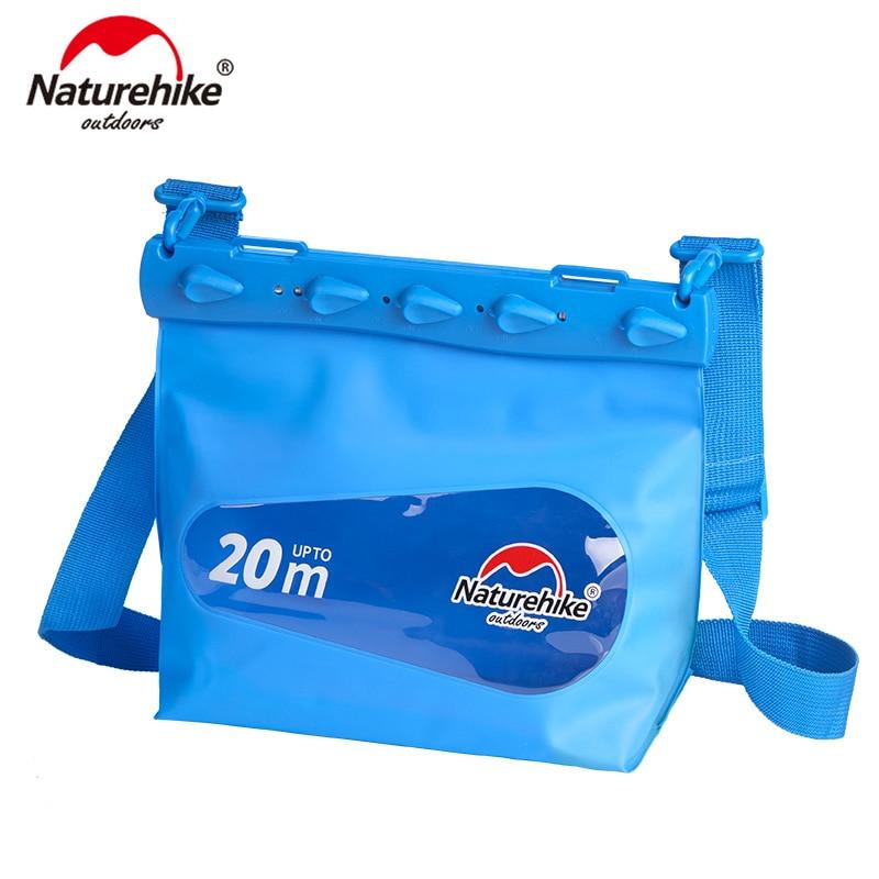 Naturehike Outdoor Swimming Drifting Diving Underwater PVC Waterproof Bag Dry Sack Storage Rafting Sports  NH17F001