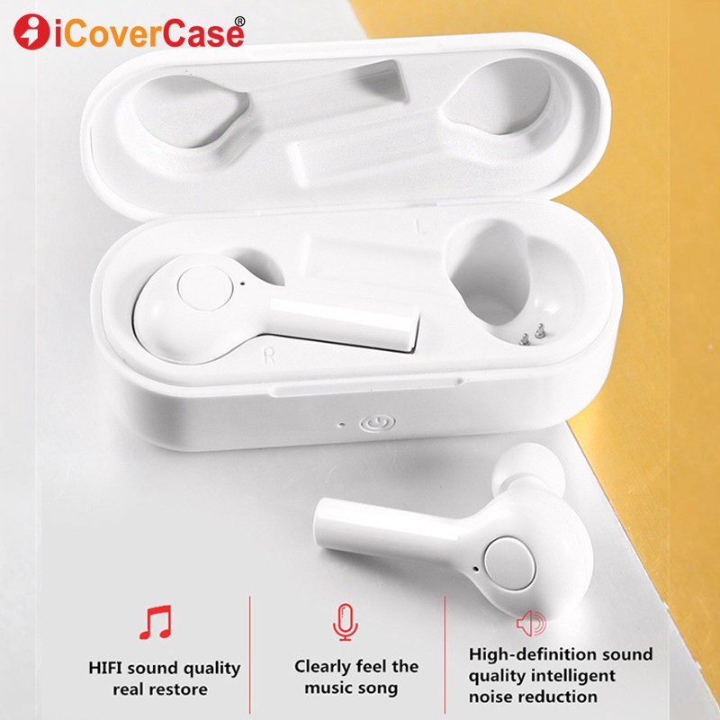 For Samsung Galaxy A6 A6+ A8 Plus A9 2018 A3 A5 A7 2017 2016 J3 J5 J7 J6 J8 J4 + Bluetooth Earphone Wireless Headphone Earbud image