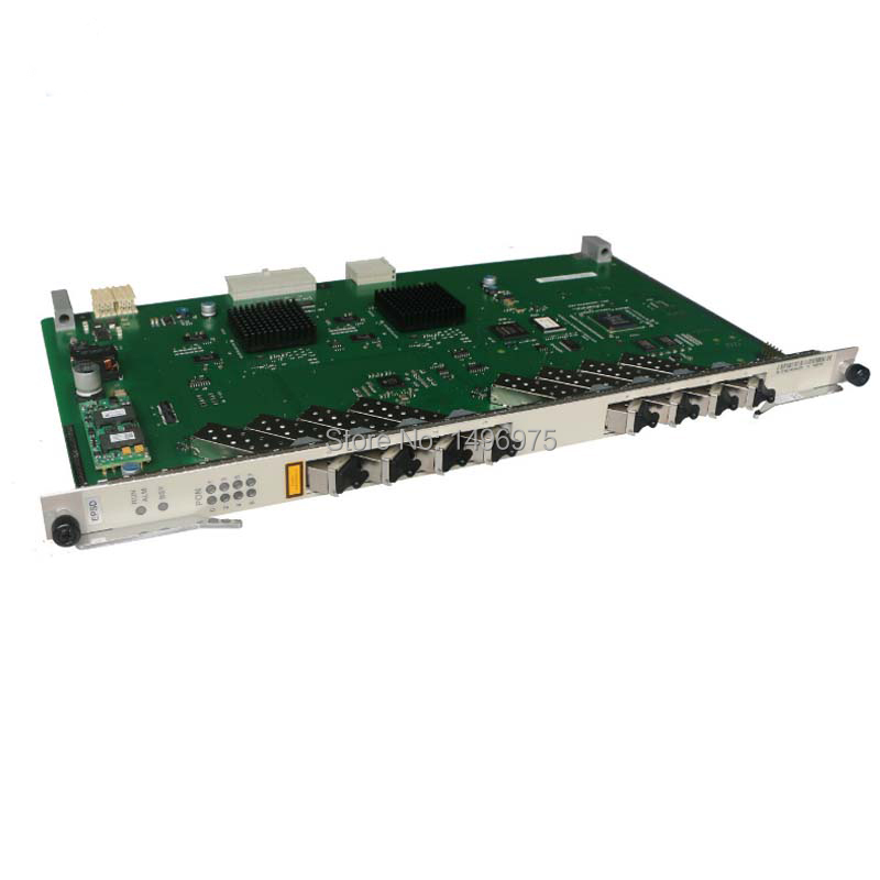 Brand new original Huawei 8 ports EPON EPSD board for MA5680T or MA5683T OLT, with 8 modules included.