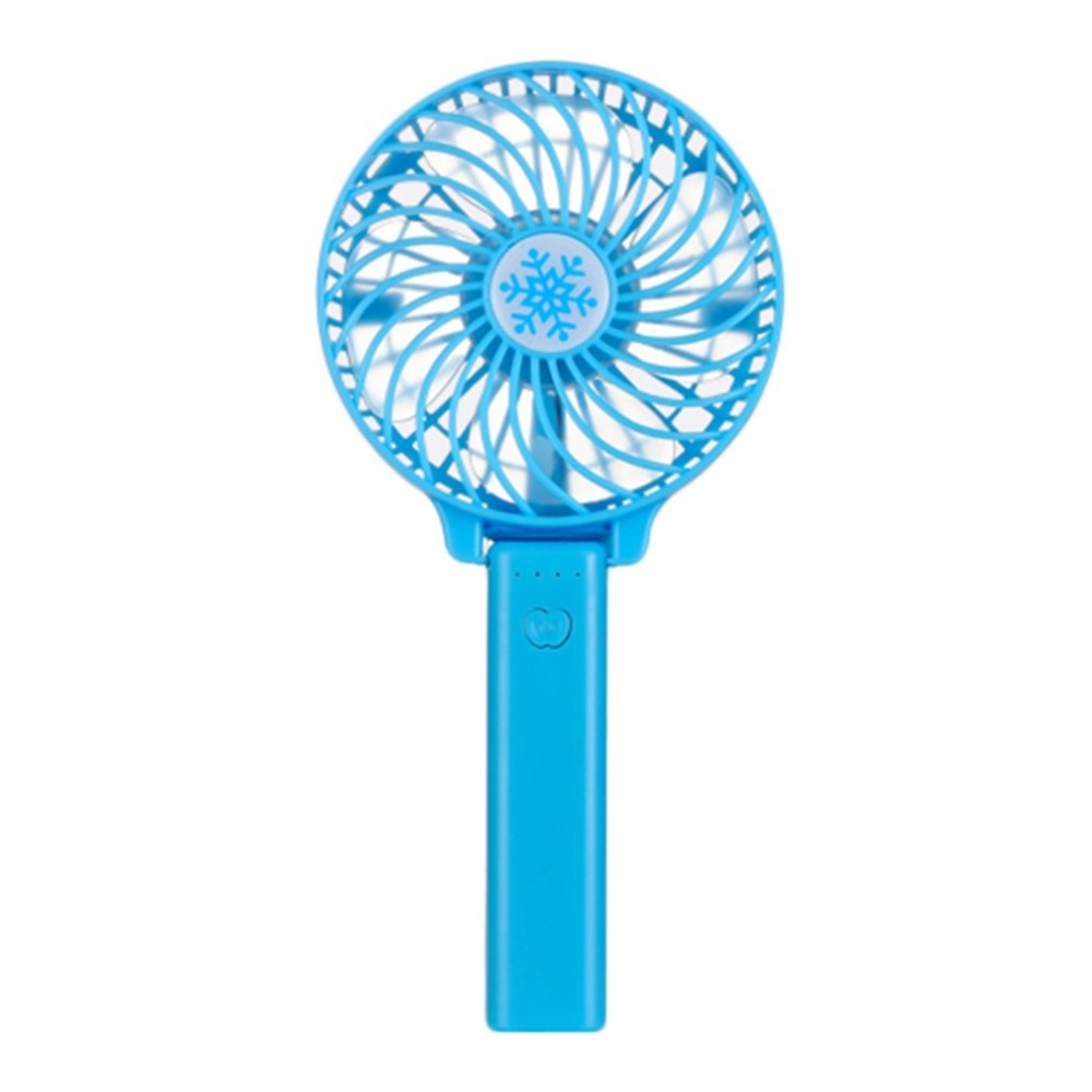 Portable Hand Fan USB Rechargeable Foldable Handheld Mini Fan Cooler 3 Speed Adjustable Cooling Fan For Outdoor Travel