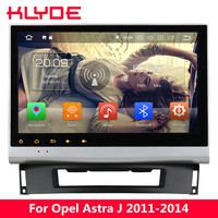 KLYDE 10.1 IPS 4G Android 8.0 7.1 Octa Core 4GB RAM 32GB Car DVD Player Radio For Opel Astra J 2011 2012 2013 2014 CD300 CD400