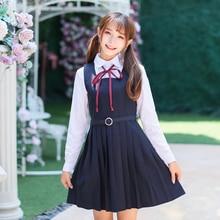 Summer Japanese School students Girl Uniform Naval College Style Sailor Uniforms Suit Japanese Korea Girls Student Uniform Sets цены онлайн