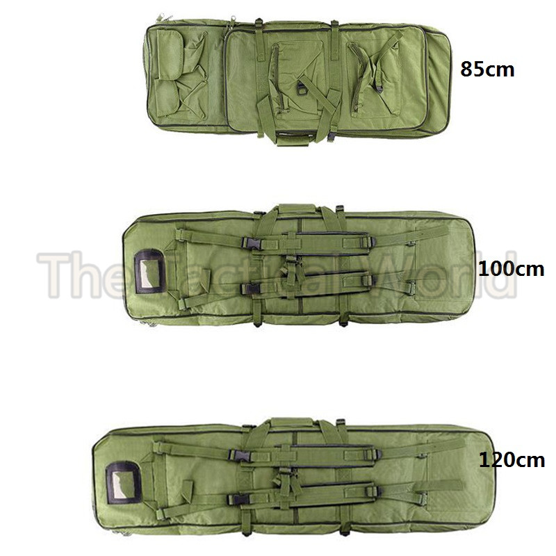 Pools & Water Fun Humor Airsoft 100 120cm Gun Bag Case Rifle Backpack Military Hunting Dual Rifle Bag Case Square Carry Bags Outdoor Gun Accessories