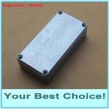 1 шт стандартный 1590 г литой алюминиевый корпус, алюминиевая коробка