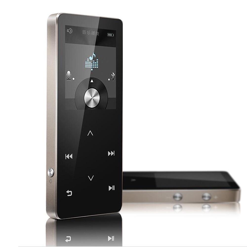 100% QualitäT Auphil Sport Mp3 Player Bluetooth 4,0 Verlustfreie Musik-player Mit Fm Radio Recorder Ebook 100 Stunden Spielen
