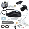 Black 50cc 2 Stroke Bike Bicycle Gas Motorized Engine Motor Kit CDI Air Cooling For