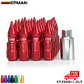AUTHENTIC EPMAN M12 X1.25 20PCS ACORN RIM Racing Sports Car Lug Wheel Nuts Screw Long  WITH SPIKES FOR Subaru EP-E650H-1.25JT-FS