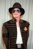 Custom Made New MJ Professional Cosplay MICHAEL JACKSON Costume Retro Punk Jacket British Army Dress Coat Black Color