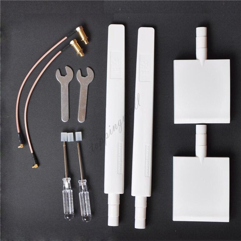 DJI Phantom 4 3 Advanced PRO Inspire 1 WiFi Range Extender 2 Pannel Long Antenna Kit