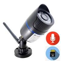 Ip камера Wi-Fi 1080 P 720 P Аудио CCTV безопасности дома видеонаблюдения HD наружный водонепроницаемый беспроводной HD ночного видения 2MP Onvif Ipcam