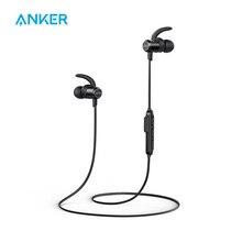 [Модернизированный] Anker SoundBuds тонкая беспроводная гарнитура легкий Bluetooth 4,1 наушники IPX5 Водонепроницаемость Спорт гарнитура с микрофоном