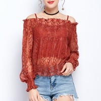 2019 Summer Clothes For Women Fashion Two Piece Strap Tops Sexy Lace Off Shoulder Tops Elegant Slim Fit Women Party Tops