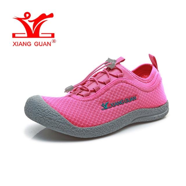 a4176e5ec6a XIANG GUAN mujer mujeres Upstream zapatillas rosa mocasines verano agua del  canotaje del deporte zapatos para