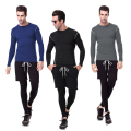 YEL Newest Men Quick Dry Compression Tights  Running Pants Fitness Gym Training Sports Leggings Polyester Yoga Pantalones 1020