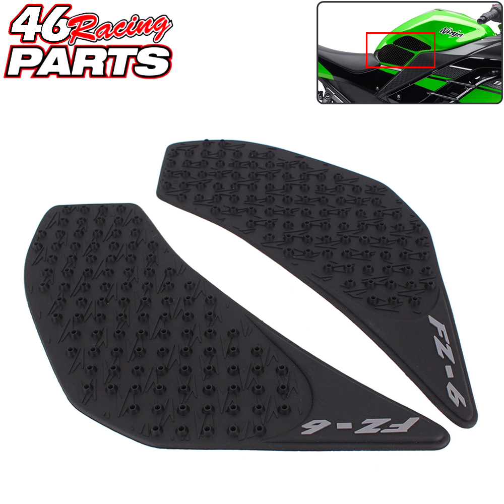 CK CATTLE KING Motorcycle Tank Pad/grips Protector Sticker /Protective Pad For Yamaha FZ-6 FZ6 FZ 6 2006-2010