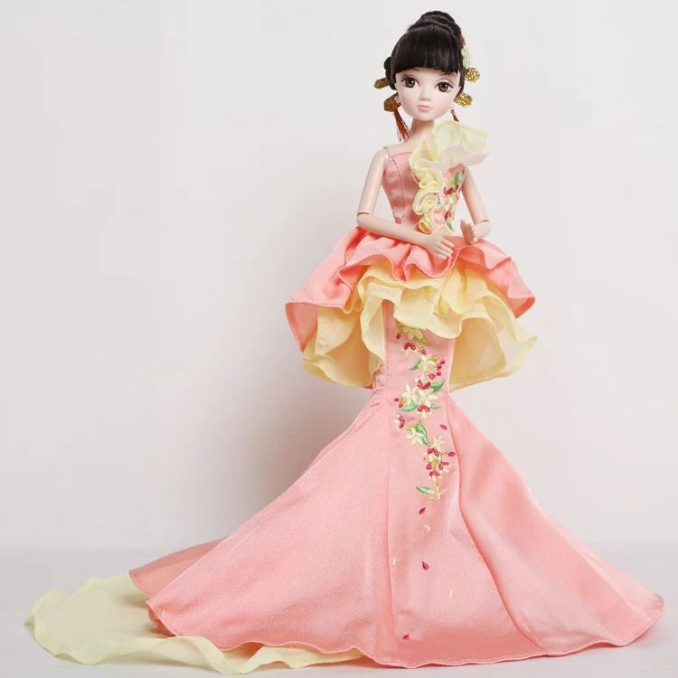 D0623 In box Best children girl gift 30cm Kurhn Chinese Doll Chinese myth Gift Traditional toy Begonia Fairy 9087 1pcs лампа светодиодная 10215 e14 6w 4500k шар матовый led g45 6w nw e14 fr o