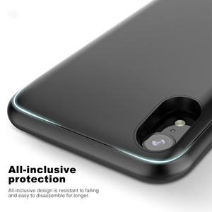 Image 5 - Battery Case For iPhone X XS Max XR Power Bank Power Case Audio Slim Charger Powerbank Case For iPhone 6 6S 7 8 Plus 5 5S SE XR