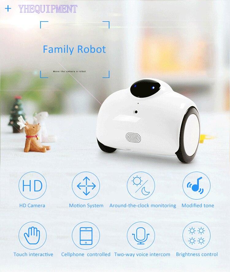 Удивительные семья Робот Игрушки с HD камера весело IOS телефона Android WI FI Радио дистанционный пульт и офисных помещении детей подарок для ребе