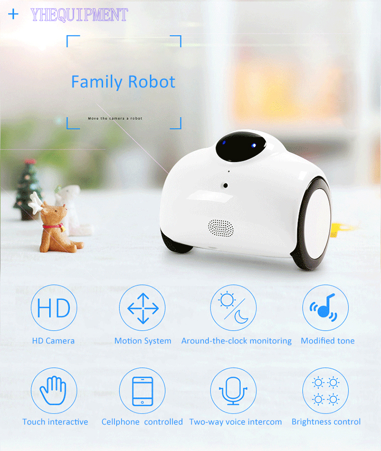 Amazing family robot toys with HD camera fun IOS Android phone WIFI Radio remote control and office indoor children kids gift buff бандана child uv protection surf traveller one size dark navy
