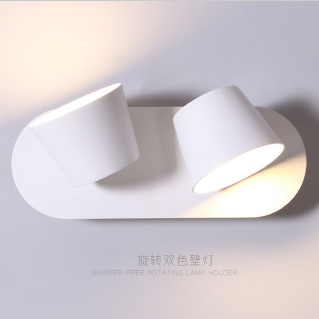 Flexible Reading Lights For Beds Bedside Lamp Switch Led Modern Style Wall Bedroom Stair Home