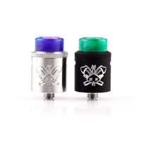 Newest Hellvape Dead Rabbit BF SQ RDA Tank Aluminum Supports Single Dual Coil For Elctronic Cigarette