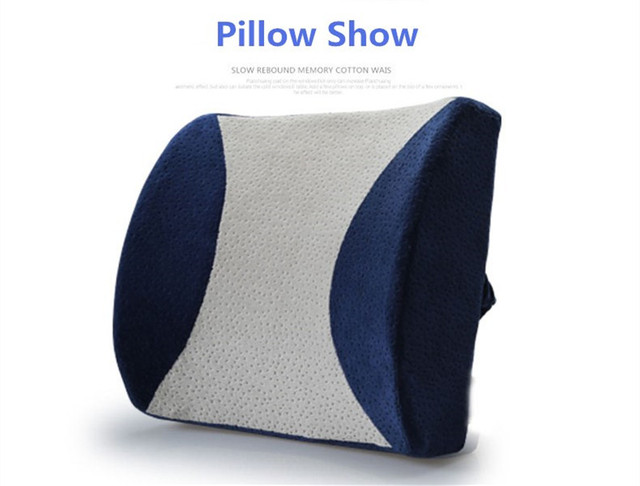 office chair back cushion bedroom target memory foam pillows health care waist support car breathable throw massage z73